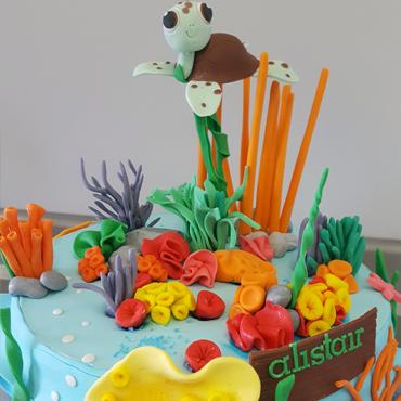 Gâteau d'anniversaire Nemo par CoffeeCake