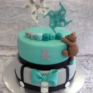 Gâteau de baptême par CoffeeCake