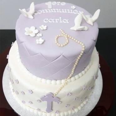 Gâteau de communion par CoffeeCake