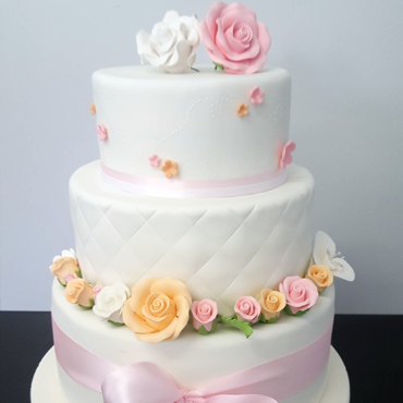 Wedding Cake fleuri par CoffeeCake